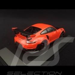 Porsche 911 type 991 GT2 RS phase II 2018 orange fusion lava orange 1/43 Minichamps 410067239