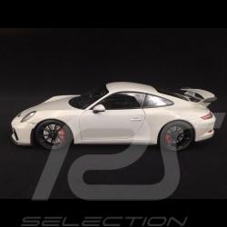 Porsche 911 type 991 GT3 phase II 2017 gris craie chalk grey kreidegrau 1/18 Minichamps 110067036