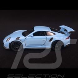 Porsche 911 GT3 RS type 991 PH1 2015 jouet à friction Welly bleu Gulf WAX02600005