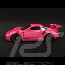 Porsche 911 GT3 RS type 991 MK1 2015 Spielzeug Reibung Welly Fuchsia purplerot WAX02600005