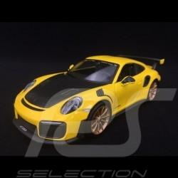 Porsche 911 type 991 GT2 RS phase II 2018 yellow / carbon 1/24 Maisto 31523