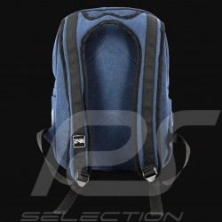 24h Le Mans Legende Classic backpack Navy blue Cotton Official Supply LM300BL-20B
