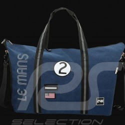 24h Le Mans Legende Travel bag Weekend Beige Cotton Official Supply LM300BE-16