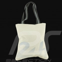 24h Le Mans Legende Shopping bag Beige Cotton Official Supply LM300BE-21
