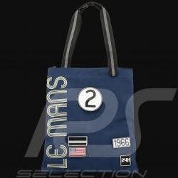 24h Le Mans Legende Shoppingtasche Beige Baumwolle Offizielle Versorgung LM300BE-21