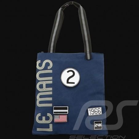 Sac Shopping 24h Le Mans Legende Coton Beige Fourniture officielle LM300BE-21