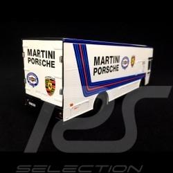 Mercedes O 317 truck Porsche Transporter Martini White 1/43 Schuco 450373400
