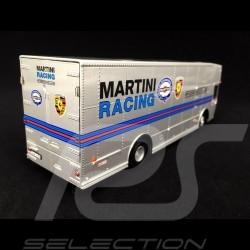 Mercedes O 317 truck Porsche Transporter Martini Silver grey 1/43 Schuco 450373300