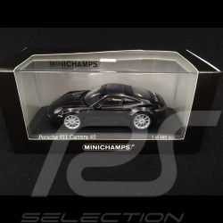 Porsche 911 type 992 Carrera 4S 2019 black 1/43 Minichamps 410069320
