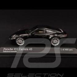 Porsche 911 type 992 Carrera 4S 2019 noir 1/43 Minichamps 410069320