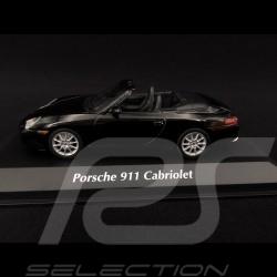 Porsche 911 type 996 Cabriolet 2001 noir 1/43 Minichamps 940061030