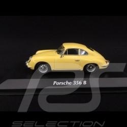 Porsche 356 B Coupé 1961 jaune pastel 1/43 Minichamps 940064300