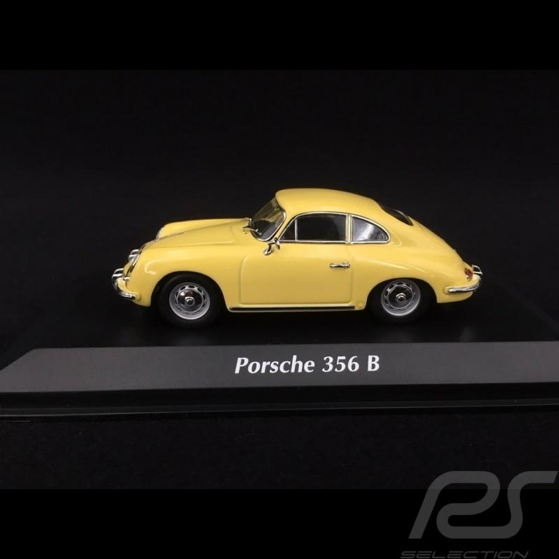 Porsche 356 B Coupé 1961 pastel yellow 1/43 Minichamps 940064300