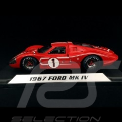 Ford GT40 Mk IV n° 1 Winner Le Mans 1967 1/18 Shelby 423