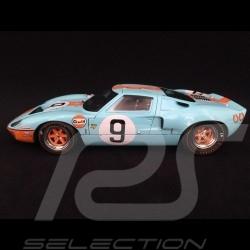 Ford GT40 Mk I n° 9 Vainqueur Winner Sieger Le Mans 1968 1/18 Solido S1803001