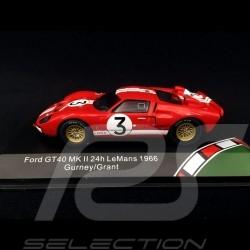 Ford GT40 Mk II n° 3 24h Le Mans 1966 1/18 CMR 43053