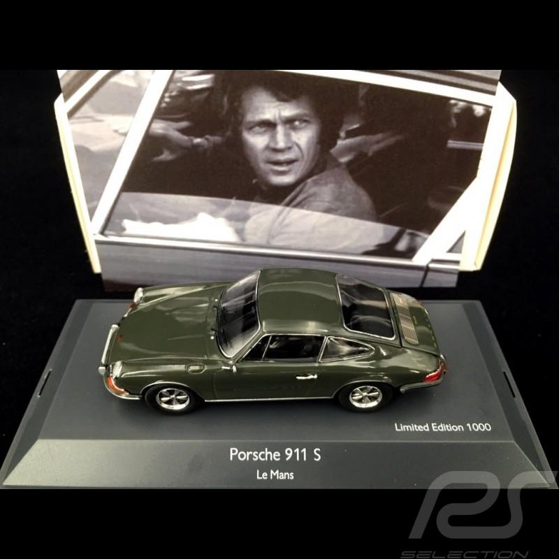 Porsche 911 S Steve Mc Queen / Le mans 1971 Movie 1/43 Schuco 450363600