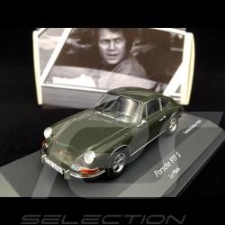 Porsche 911 S Steve Mc Queen / Le mans 1971 Film 1/43 Schuco 450363600
