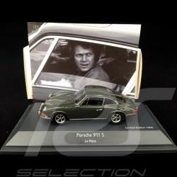Porsche 911 S Steve Mc Queen / Film Movie Le mans 1971 1/43 Schuco 450363600