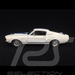 Ford mustang shelby GT500 1967 wimbledon white 1/18 Solido S1802901