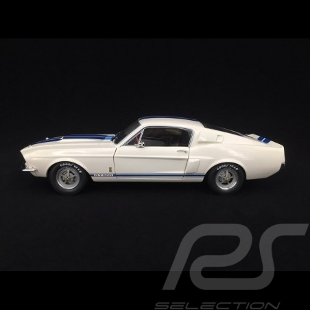 Ford mustang shelby GT500 1967 blanc white weiß wimbledon 1/18 Solido S1802901