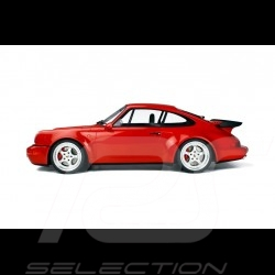 Porsche 911 type 964 Turbo 3.6 1992 1/8 GT Spirit GTS80012 rouge indien Guards red Indischrot