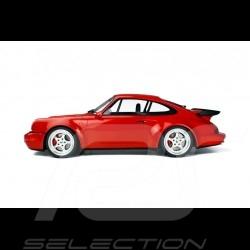 Porsche 911 type 964 Turbo 3.6 1992 1/8 GT Spirit GTS80012 rouge indien Guards red Indischrot