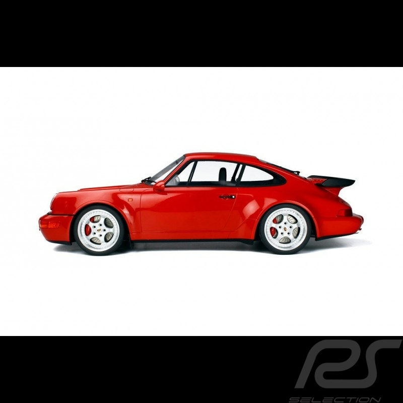 Porsche 911 type 964 Turbo 3.6 1992 Guards red 1/8 GT Spirit GTS80012