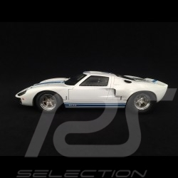 Ford GT40 Mk I 1968 blanc 1/18 Solido S1803002