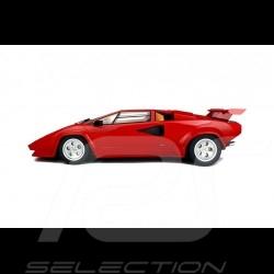 Lamborghini Countach LP500 QV 1985 rouge 1/8 GT Spirit GTS80031