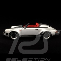 Porsche 911 3.2 Speedster 1989 gris argent 1/18 GT Spirit GT768