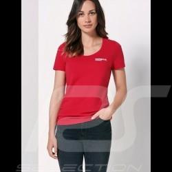 Porsche Motorsport T-shirt red Porsche Design WAP810LFMS - women
