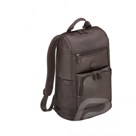 Mercedes Classic Backpack bag Dark brown Leather Mercedes-Benz B66042013