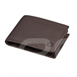 Mercedes Classic Wallet Dark brown Leather Mercedes-Benz B66042014