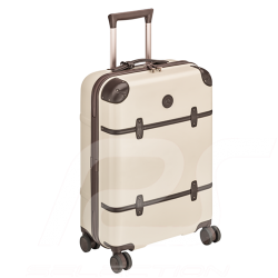 Mercedes Classic Trolley suitcase Beige / Dark brown Polycarbonate / Leather Mercedes-Benz B66042015