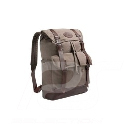 Mercedes Classic Backpack bag Brown Canvas Mercedes-Benz B66045014