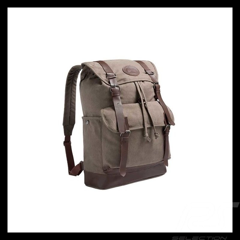 Mercedes Classic Backpack bag Brown Canvas Mercedes-Benz B66045014