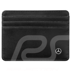 Mercedes Mini credit card holder Black Leather Mercedes-Benz B66951619