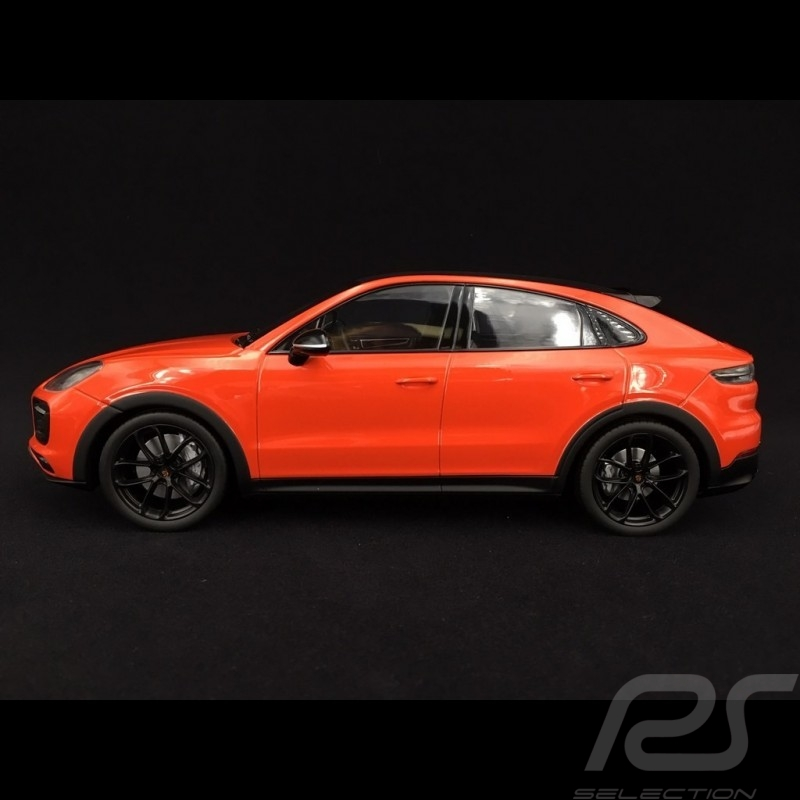 Porsche Cayenne S Coupe 2019 Lava Orange 1 18 Norev Wap0213180k Selection Rs