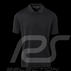 Porsche Polo shirt Signature Cool & Dry Black WAP493J - men