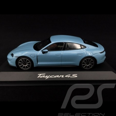 Porsche Taycan 4S 2019 frozen blue 1/43 Minichamps WAP0207810L