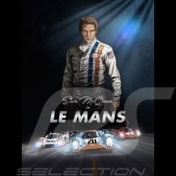 Pack Comic Buch Steve McQueen Le Mans - Band 1 & 2 - Deutsch