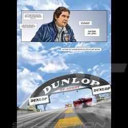 Duo Livre BD Steve McQueen Le Mans - Tome 1 & 2 Comic book Buch anglais english englisch