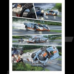 Pack Comic Books Steve McQueen Le Mans - Volume 1 & 2 - english