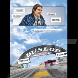 Pack Comic Buch Steve McQueen Le Mans - Band 1 & 2 - Französich