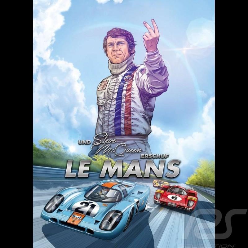 Comic Buch Und Steve McQueen erschuf Le Mans - Band 2 - Deutsch