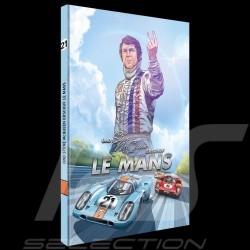 Livre BD Und Steve McQueen erschuf Le Mans - Tome 2 Comic book buch allemand german deutsch