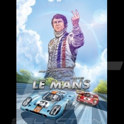 Comic Book And Steve McQueen created Le Mans - New - english
