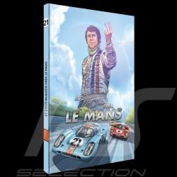 Livre BD Et Steve McQueen créa Le Mans - Tome 2 Comic book Buch français french Franzosich