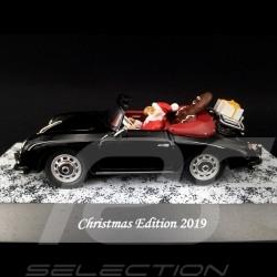 Porsche 356 Cabriolet Christmas Edition 2019 noir 1/43 Schuco 450268700